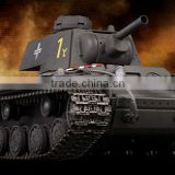 Pz.753(r) German Captured Grey Airsoft BB VS RC 1/24 Battle Tank