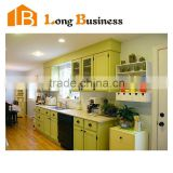 LB-JX1228 Philippines Project Modern White Lacquer Kitchen Design Modern