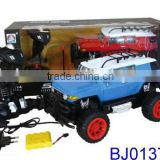 Best rc car for kids blue off road vechicle 4ch big wheels rc car kit