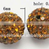 Diamond Pave Beads(RB-Q094-7)