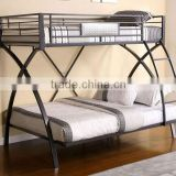 2015 X shape classic kids double beds with high quality