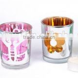 100% natural soy wax glass jar candle