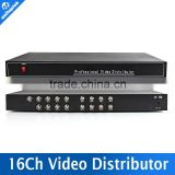 1CH In/16CH Output 720P/1080P CVI/TVI/AHD Camera BNC Output,Max Up to 300-600M 16CH Analog HD Video Splitter