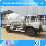 best quality dongfeng cement transport truck,6m3 concrete mixer truck,cement mixer truck