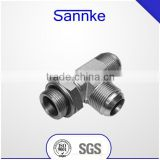 With ISO9001 Certification factory supply JIC tee fittings