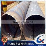 SSAW Carbon Spiral / Helical Welded / Helix Screw Thread Steel Pipe