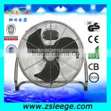 "FF-450B 16"" 18""20"" high velocity metal floor fan/floor standing industrial fan"