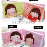 Korean Girl Lovely Business ID Credit Card Wallet Holder Pocket Bag Case