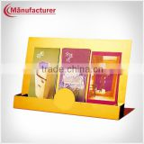 OEM Metal Portable Literature & Brochure Rack Stand Countertop Display Rack For Trade Show