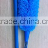Household plastic and microfiber fashion cleaning duster
