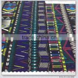 Spandex nylon viscose cavalry twill N70D+40D*R10 110*86 272GSM 56'' geometric figure designs fabric