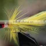Yellow Foam Popper Bass Fly Fishing Fly Fishing Flies Lures
