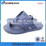 Indoor PVC bathroom slipper with massaging insole for man India market soft PVC massaging slippers for men