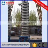 Vertical Lift Conveyor/Vibrating Screw Elevator/Spiral Vibrating Conveyor for chemical powder