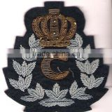 Hand Embroidered Badges , Emblems , Crest , Insignias, Patches