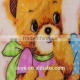 "100%cotton 32*12 40*42 44""various lovely paint printing flannel fabric for baby blanket"