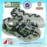 2015 sports kids Hollow out rope sandals with ben 10 cartoon