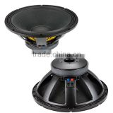 PA speaker 18 Inch super woofer for professional speaker
