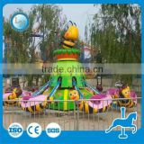 Outdoor playground machine rotary bee ride!!! Amusement park kids ride rotary bee ride for sale