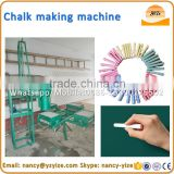 Automatic school chalk making machine, colorful Chalk making mould blackboard chalk forming machine
