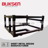 OEM stainless steel folding shelf support bracket