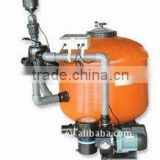Special filtration combo with filter/pump/air blower,high performance usage for fish pond