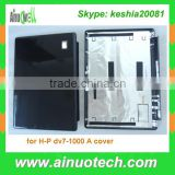 brand new A cover laptop lcd back cover for HP dv7-1000 laptop hinge plam rest bottom case