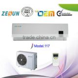 DC inverter split wall mounted air conditioner for Europe with CE, High eer Class A,9000btu=1ph=0.75ton