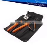 Low Price 3PCS Long Wooden handle BBQ Grill Tools set with apron