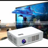 Hot Sales Portable Projector With Bluetooth 4.0 USB 3.0 WiFi / Smart Blu-ray 3D Projector / WiFi Projector