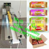 commercial bagged food stacking machine/packaged snack sequencing machine/packed dried noodle arranging machine in a row