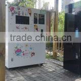 Inquiry about Coin operated ice cream vending machine