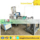 Full automatic beeswax comb foundation machine with Stainless steel roller