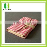 Good quality Cloth cover four lined paper line notebook