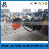 skid steer loader attachment tray saw concrete saw disk saw