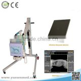 good quality image flat panel detector 4kw radiography system high frequency digital x ray