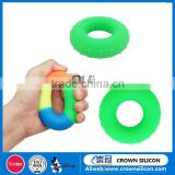 2016 Silicone Exercise Hand Grip Ring Healthy Hand Grip Strengthener