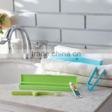 N528 Home Travel Toothbrush Case & Plastic Toothbrush Holder With Cover