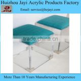 China supplier wholesale clear acrylic vanity stool