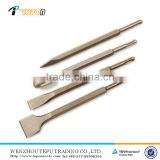Different shape SDS Plus Flat Pointed Spade electric hydraulic rock breaker chisel