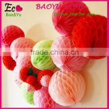 Party Decoration 10 Inch Paper Craft Honeycomb Ball wholesale