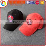 Custom Suede Fabric Embroidery Patch Baseball Cap Without Button