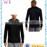 100 polyester adult plain sweat shirt with underarm mesh