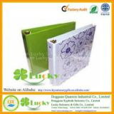 PP Cover Cardboard 1 Inch 3 O Ring Binder