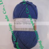 High twist Slim poly/wool blended yarn 42%wool 50%acrylic 8%polyeaster hand knitting yarn