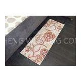 Light brown Rose Elegant style Decorative Microfiber Kitchen Mats also for bedroom