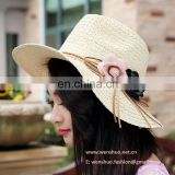 Wholeslae Ladies Fashion Beach Straw Hat