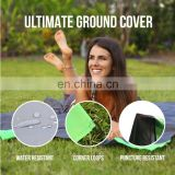 Soft Lightweight Waterproof Polyester Outdoor Blanket with Practical Pouch