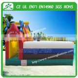 2015 Top quality Castle Jumping Bouncer House, Inflatable Bounce Castle Combo, Mini Bouncy Slide