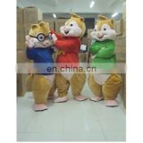 custom cartoon adult plush animal costume to worm